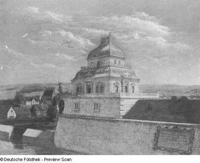 Dresden, Churfürstliches Lusthaus nach 1653