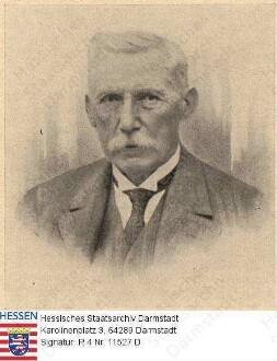 Bronner, Karl (1857-1936) / Porträt, Brustbild