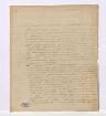Ludwig Georg Thedel Graf v. Wallmoden-Gimborn an Stein ---- Formalbeschreibung: egh.; frz.