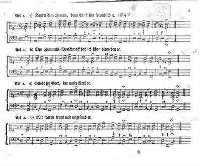 Choral-Buch : enthaltend alle zu dem Gesangbuche der Evangelischen Brüder-Gemeinen vom Jahre 1778 gehörige Melodien