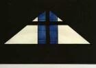 Entwurf für ein Glasfenster in der Friedhofskapelle in Steina