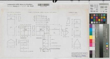 waltrop waltrop pachtgeh ft kanalstra e 113 schematischer grundri schnitt ansicht. Black Bedroom Furniture Sets. Home Design Ideas
