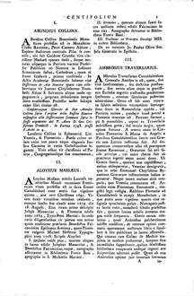 ˜Magnoaldi Ziegelbauerœ Centifolium Camaldulense sive notitia scriptorum Camaldulensium ...