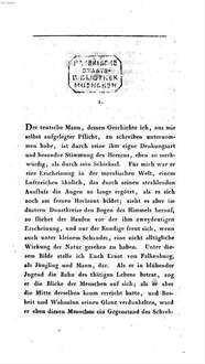 Werke. 8. Geschichte eines Teutschen der Neusten Zeit. - 1 Bl., 382 S.