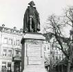 Potsdam, Schloßstraße. Denkmal Friedrich Wilhelm August von Steuben