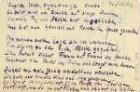 Gedichtmanuskript von Kurt Tucholsky