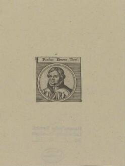 Bildnis des Paulus Eberus