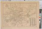 Bochum (Bochum) - Stadtplan - um 1900 - 1 : 5000 - 60 x 86 - Druck - Regierung Arnsberg