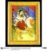 Göttin Durga auf Löwen