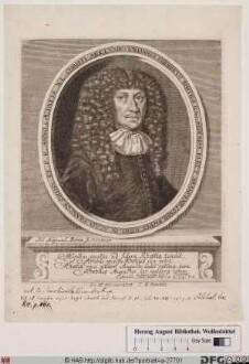 Bildnis Johann Friedrich Rhetz (1682 von)