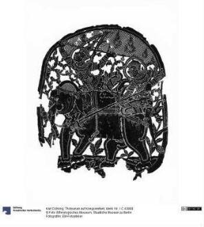 Thotsakan auf Kriegselefant