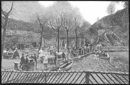 Oberau. Buschmühle mit Gondelteich