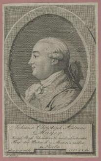 Bildnis des Johann Christoph Andreas Mayer
