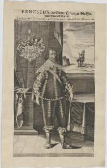 Bildnis des Ernestus III., Herzog von Sachsen-Gotha-Altenburg