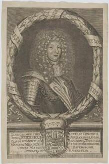 Bildnis des Herzogs Friedrich I. zu Sachsen-Gotha und Altenburg