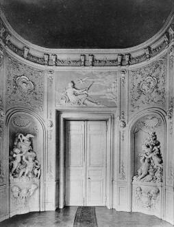 Jagdschloss Falkenlust — Oberes Vestibül