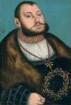 """Johann Friedrich von Sachsen, genannt """"der Großmütige"""" (1503 - 1554), Kurfürst von Sachsen von 1532 bis 1547, Herzog von Sachsen 1547 bis 1554"""