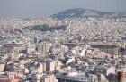 Athen - Stadtzentrum von der Akropolis gesehen