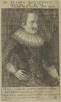 Bildnis des Io. Petrus Lotichius