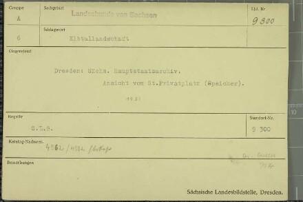 Sächsisches Hauptstaatsarchiv Dresden