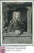Passer, Justus Eberhard (1652-1733) / Porträt, mit Wappen, in Steinrahmen mit lateinischer Sockelinschrift / Halbfigur