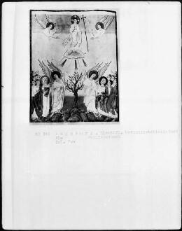 Perikopenbuch — Himmelfahrt Christi, Folio 70verso