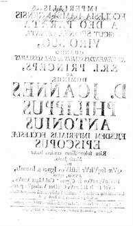 Imperialis ecclesia Bambergensis a deo parata sicut sponsa ornata viro suo : quando ... Joannes Philippus Antonius ejusdem imperialis ecclesiae episcopus ritu solennissimo consecrabatur mense Junio ... anno quo 1747