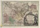 Karte vom Herzogtum Brieg, 1:140 000, Kupferstich, 1736