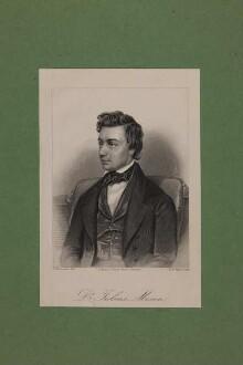 Bildnis des Julius Mosen