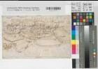 Südlohn (Südlohn) - Ansicht vor der geplanten Befestigung - 1597 - o.M. - 19 x 32 - Tuschzeichnung - KSM Nr. 160 Ie - vgl. Münster, Landesarchiv 133,2