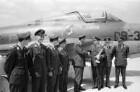 Nato-Wettbewerb der Jagdbomber unter Führung des deutschen Majors Karl Friedrich Müller von der Luftwaffengruppe Süd in Karlsruhe.