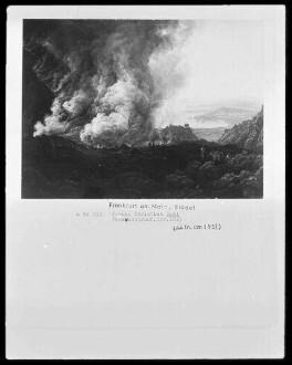 Der Ausbruch des Vesuv im Dezember 1820