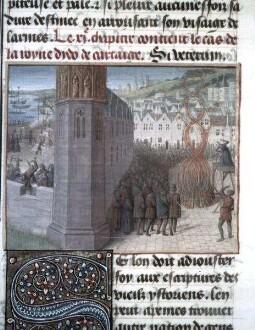 Des cas des nobles hommes et femmes — Didos Tod, Folio 56recto