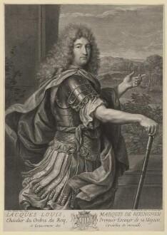 Bildnis des Iacques Louis de Beringhen