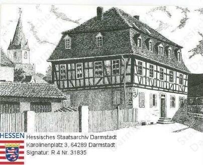 Nieder-Ramstadt, Schneidersches Haus