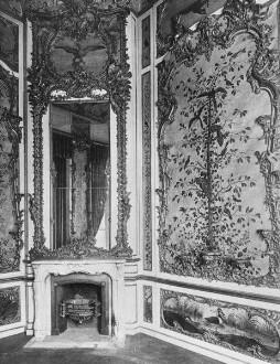 Jagdschloss Falkenlust — Spiegelkabinett / Indianisches Zimmer