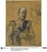 """Otto Graf von Bismarck-Schönhausen. Studie zum Gemälde """"Krönung Wilhelms I. in Königsberg"""""""