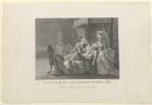 Gruppenbildnis des Leopold II und der Maria Louisa