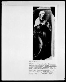 Die sieben Schmerzen der Maria — Maria als Schmerzensmutter