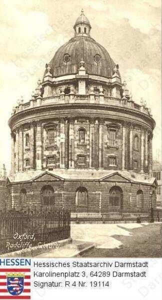 Großbritannien, Oxford / Radcliffe Bibliothek, Außenansicht