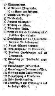 Andachten, die auch dem Gesangbuch zum gottesdienstlichen Gebrauch in den Königlich Preußischen Landen beygefügt werden können