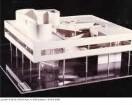 Villa Savoye - Modell des Gesamtgebäudes