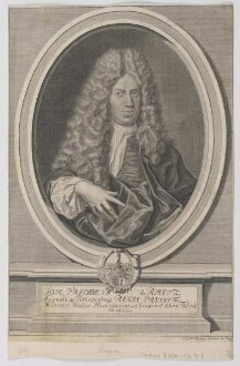Bildnis des Joh. Fridericvs de Rhetz