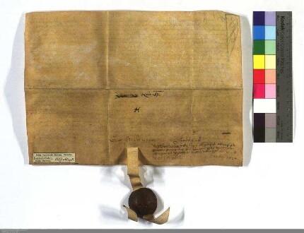 Lynt Heintz zu Heskem verkauft dem D.O. sein ein Halb Gut und Gerechtigkeit an dem Fack Heintzen Gut zu Oberhausen für 31 Pfund.