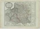 Karte von Polen, Kupferstich, 1807