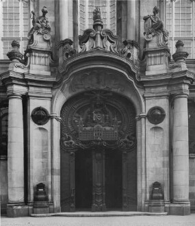 Außenaufnahme - Haupteingang
