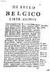 De bello Belgico : decas .... 1. (1636)