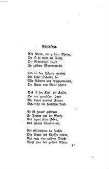 Gedichte Von Emanuel Geibel Deutsche Digitale Bibliothek