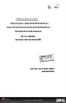 Jahresbericht über die Oberrealschule der Franckeschen Stiftungen zu Halle a.d.S. [Elektronische Ressource] ... -  1935/36; 1935/36
