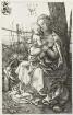 Maria mit dem Kinde am Baum